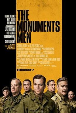 The Monuments Men กองทัพฉกขุมทรัพย์โลกสะท้าน