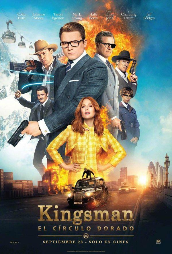 Kingsman: The Golden Circle คิงส์แมน รวมพลังโคตรพยัคฆ์ (2017)