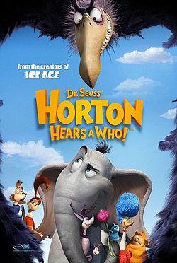 Horton Hears A Who ฮอร์ตันกับโลกจิ๋วสุดมหัศจรรย์
