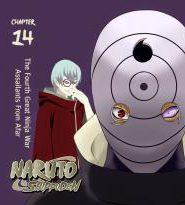 Naruto Shippuden นารูโตะ ตำนานวายุสลาตัน ฤดูกาลที่ 14: สงครามโลกนินจาครั้งที่ 4 : การจู่โจมจากระยะไกล [ซับไทย]